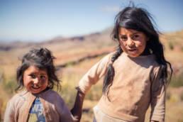 Bolivien Geschwister Mädchen Armut