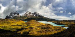 Chile Torres Del Paine Lago Nordenskjold Panorama