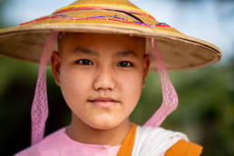 Myanmar Novizin Mädchen