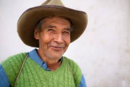 Peru Laechelnder Gaucho Hut