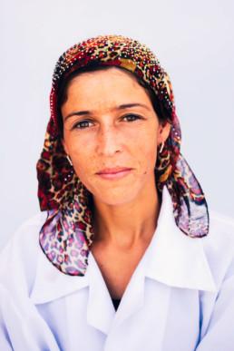 Tadschikistan Hübsche Junge Frau Markt