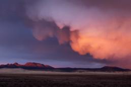 USA Arizona Gewitter Sonnenuntergang