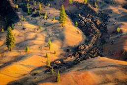 USA Kalifornien Lassen Nationalpark Fantastic Lavabeds